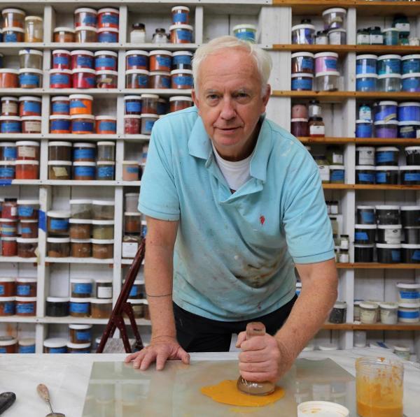 Walter O'Neill, contemporary ceramics and fresco