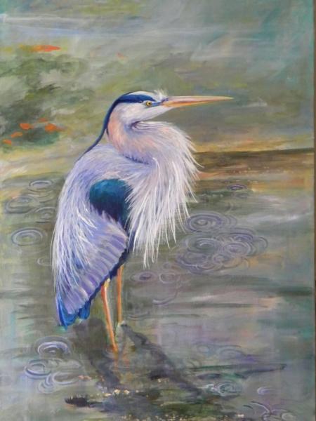 Linda's Heron