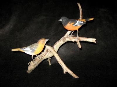 Pair Life Size Orioles