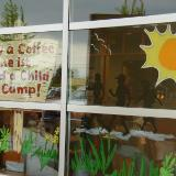 Buy a coffee send a child to camp. sign