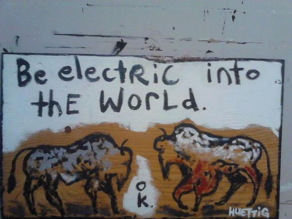 Be Electric into the World