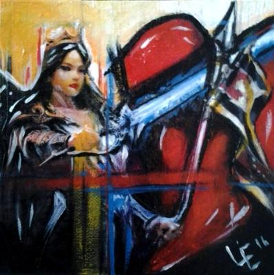 Knight's Love - Painting 2 of Knights & Warriors Commission