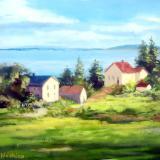 Monhegan Island Maine - Overlook