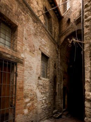 Medieval - dark doorway
