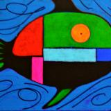 Mondrian's  Fish
