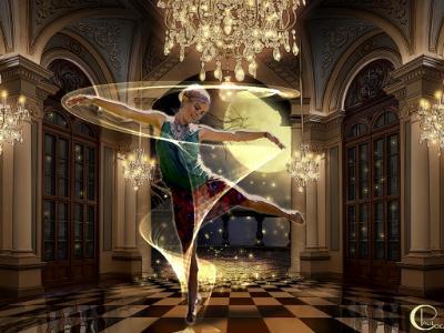 Star Girl in the Ballroom