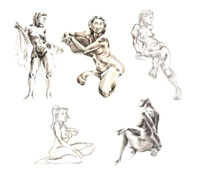 Even More Life Drawing