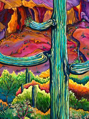 Desert Wanderlust 36x24 - $1995.00