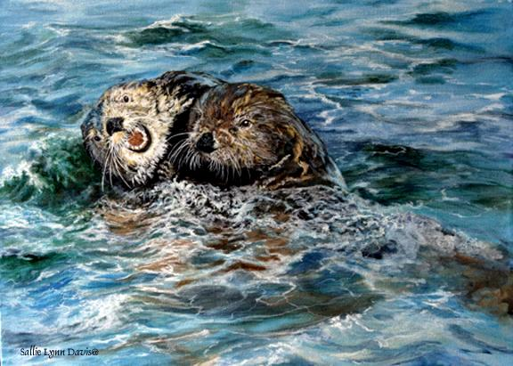 Otters at Play