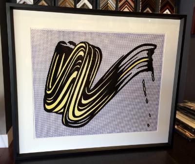 Roy Lichtenstein Test print 1965 Leo Castelli gallery NY