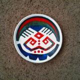 Symbols on Ceramic Dish