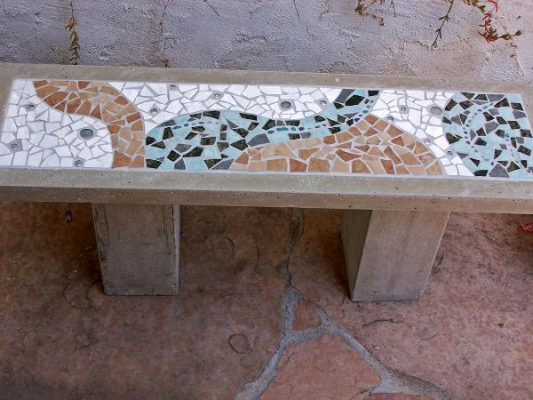 Stupendous Garden Artwork Julie Boegli Creative Mosaic Design Inzonedesignstudio Interior Chair Design Inzonedesignstudiocom
