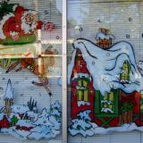 Santa deer house