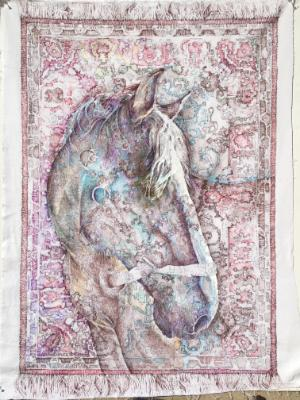 the horse in the carpet