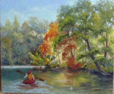 I Spy...Kayaking on the Kalamazoo River