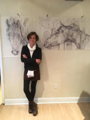 asja and drawing
