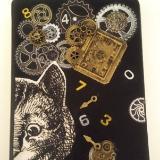 Cheshire cat Mini- Journal, lined