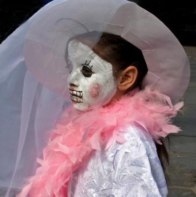 White Mask, Pink Boa