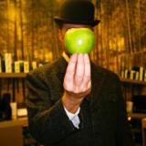 Riley Does Magritte at SNIP