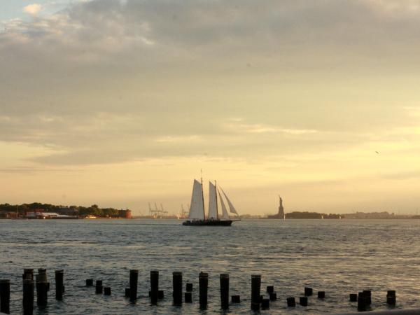 Sailboat on the East River