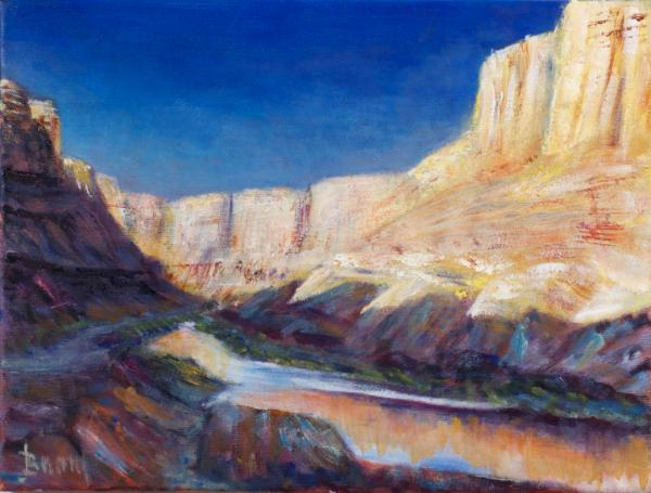Canyon River in Utah - SOLD