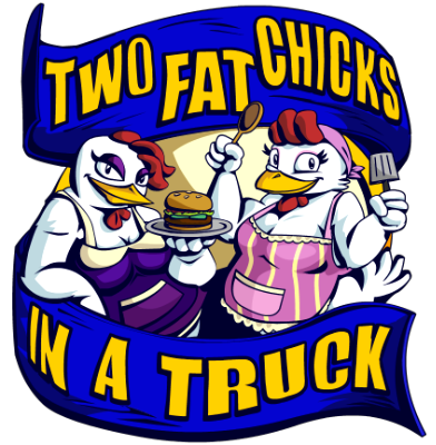 Two Fat Chicks in a Truck