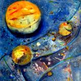 Cosmos VIII  Series 2 Abstract Acrylic  - 24x20