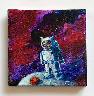 SPACECAT FINDS SIGNS OF LIFE IN SPACE