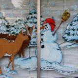 deer & snowman