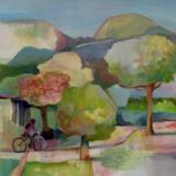 "A Ride in the Park  48""x36"""