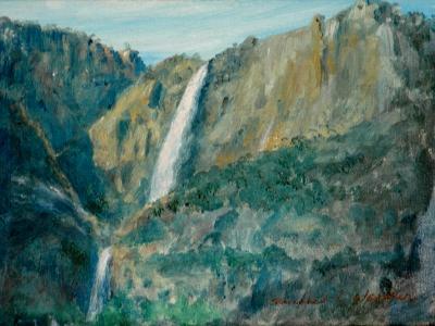 Falls at Yosemite