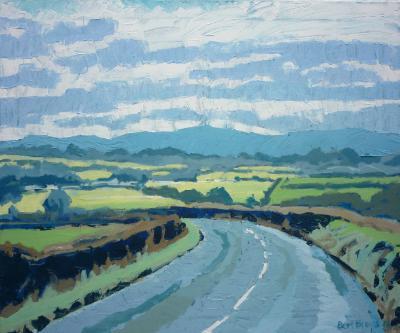 View of Dartmoor from Hatherleigh