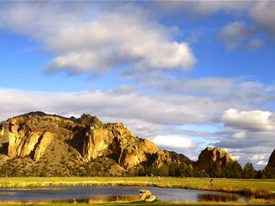 Golden Pond's Reflection