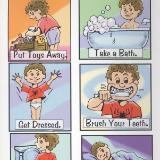 Jacob's Bed Time Chart