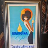 vintage Orangina ad