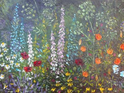 Floral border( €700)