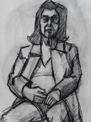 Teresa, Seated