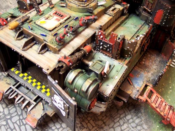 Ork Battle Fortress (rear)