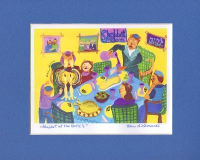 Shabbat at the Katz's