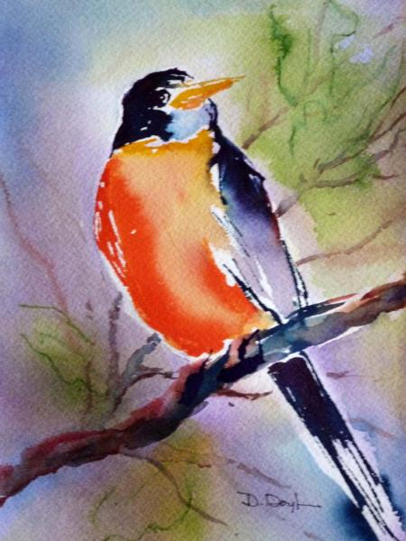 Robin Red Breast ~ Sold