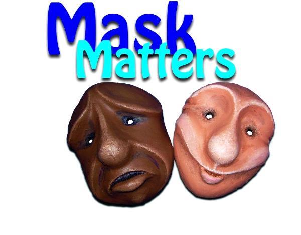 theatre masks handmade