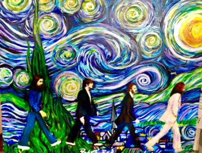 Starry nights meets abbey Road