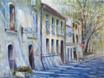 Hot Mid-Day in Provence - SOLD