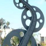 Michael Culhane...  Metal, kinetic, and film industry art