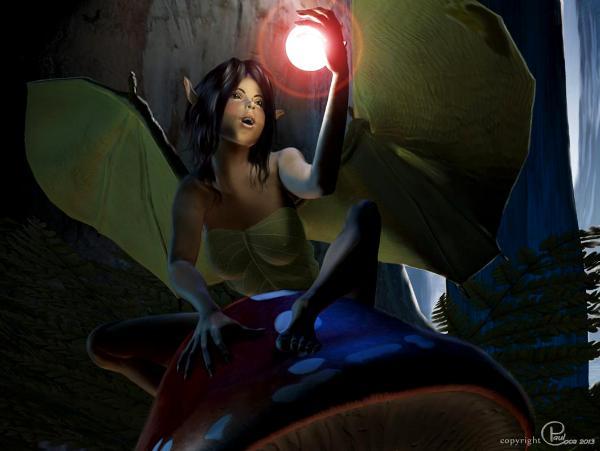 Tyna The Bat Girl