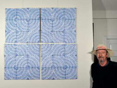Blue Maze Panels