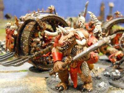 Khorne Herald on Juggernaut
