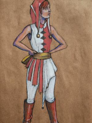 Rachael as Harlequin
