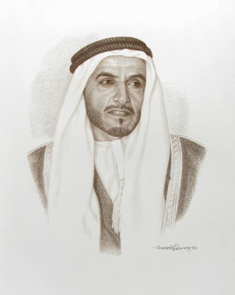 HH Sheikh Khalid Bin Sultan Al Nahyan - Masood Parvez