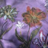 Flowers on Silk